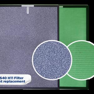 AS40 Replacement filter set (H11)