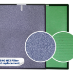 AS40 Replacement filter set (H13)