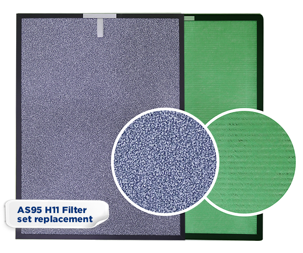 AS95 H11 Filter set replacement